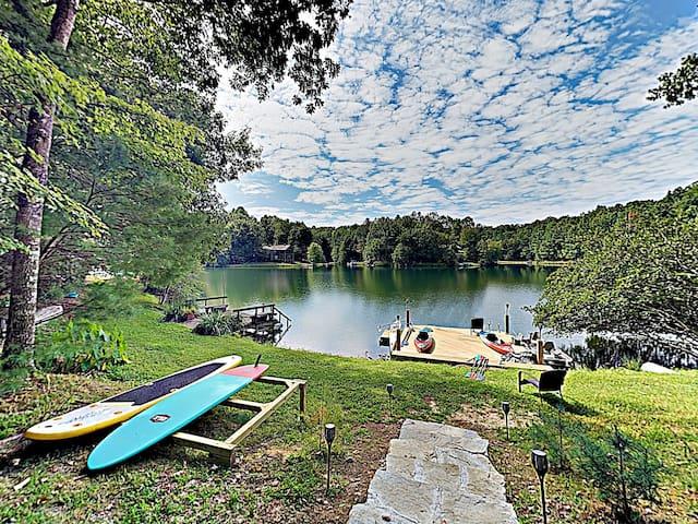 Epic Lake-View Getaway at Connestee Falls w/ Pool