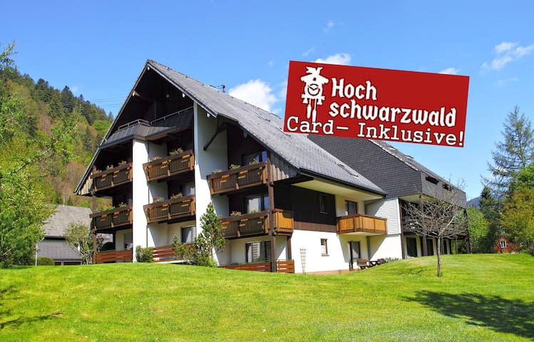 ApartmA6  f. 4-5 People Black-Forest-Card incl.