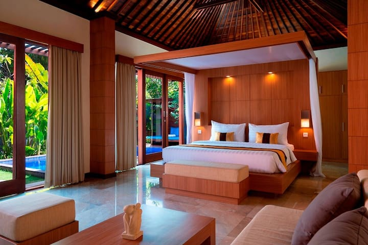Luxury 1 BDRM Private Pool Villa - The Kings Sanur