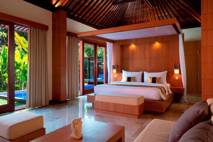 Luxury 1 BDRM Private Pool Villa - The Kings Sanur