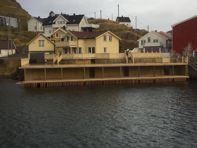 Nyksund, Øksnes, Vesterålen ,  anneks 40m2