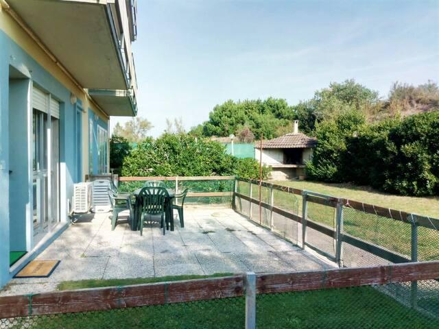Beach House with BBQ Garden in Chioggia - Venice