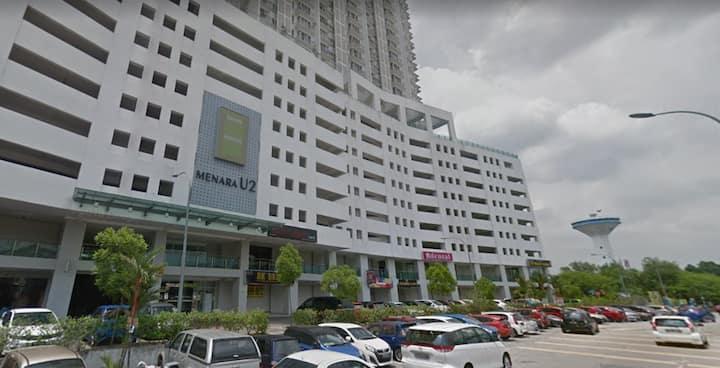 Apartment Menara U2 near MSU and AEON Mall