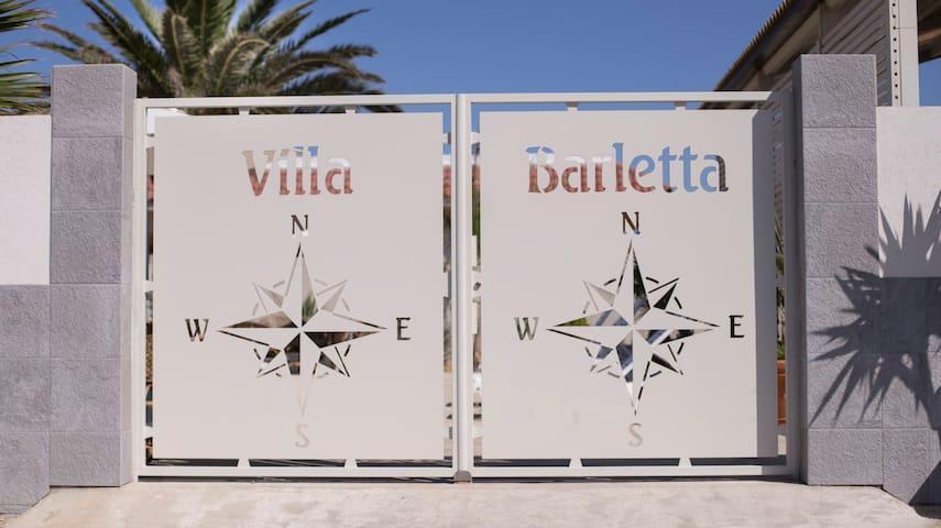 Villa Barletta apt. primo piano mansardato n 5