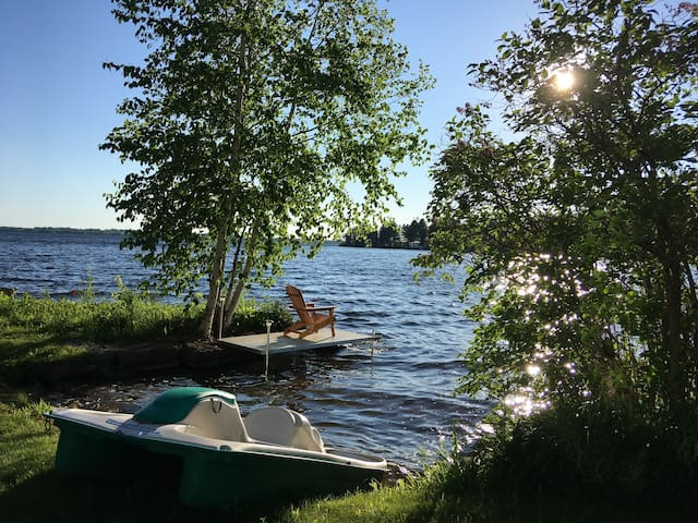 Cameron is a great lake for swimming, fishing, boating and any other water sport.
