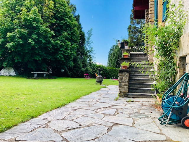 Appartement indépendant au calme, avec jardin
