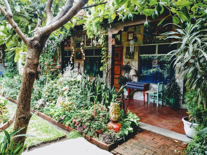 Jasmin Room | Peaceful Antigua home, garden oasis