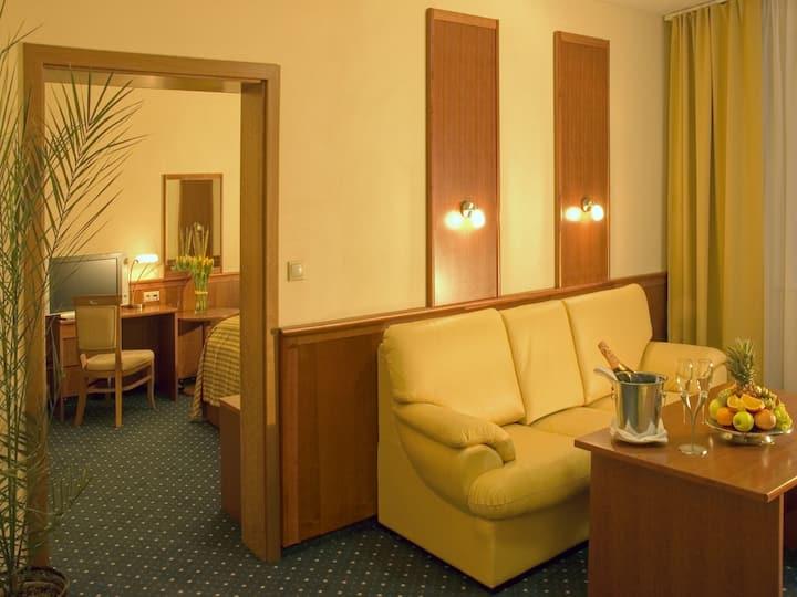 Primavera Hotel & Congress Centre, (Pilsen), Suite mit Dusche/WC