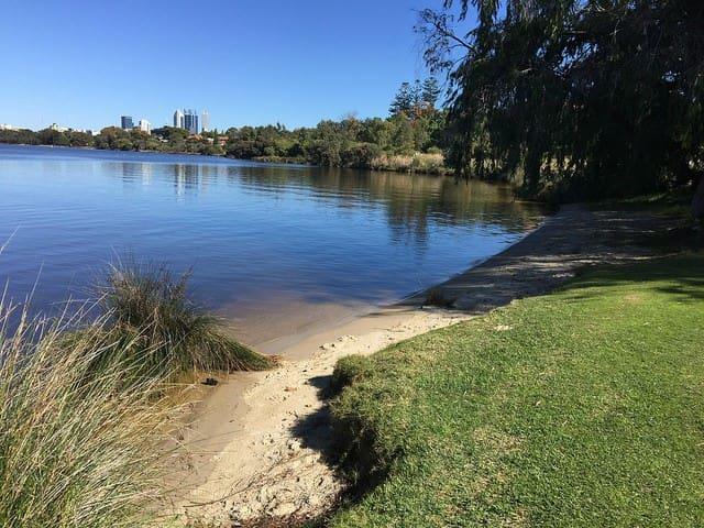 FREE wifi on the beautiful Swan River,