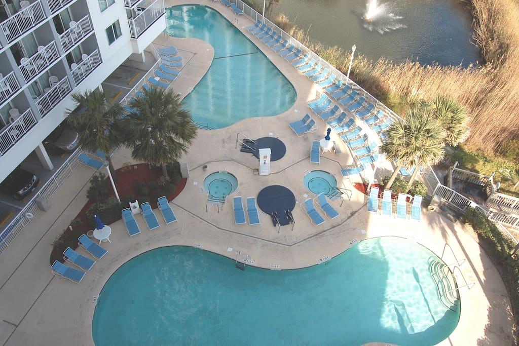 Multiple Pools