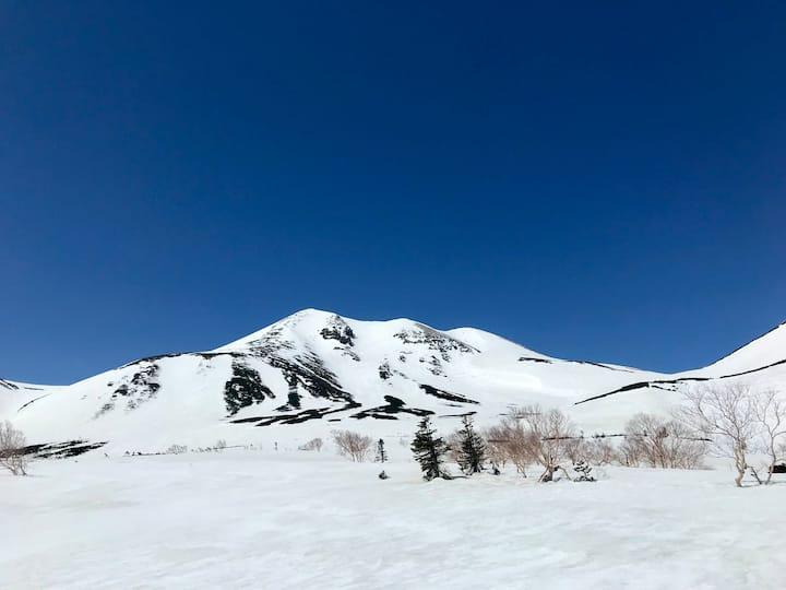 Mt Norikura alpine area