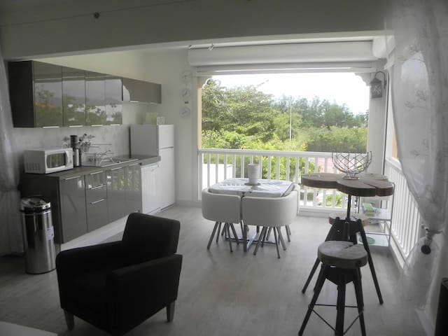 ENTRE MER ET LAGON AUX CARAIBES - Sandy Ground - Appartement