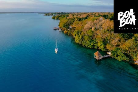 BOA BOA best spot in Bacalar / JAGUAR 60% DISCOUNT