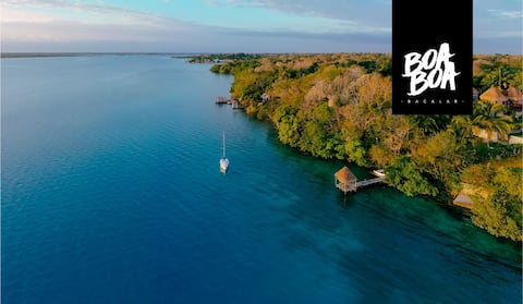 BOA BOA best spot in Bacalar / JAGUAR