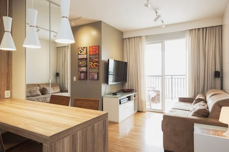 CHARMING APARTMENT WELL LOCATED - São Paulo - Apartamento