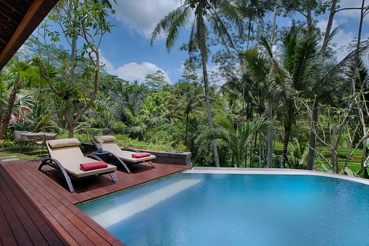 OneBedroom Villa with Jungle view  and RiceTerrace