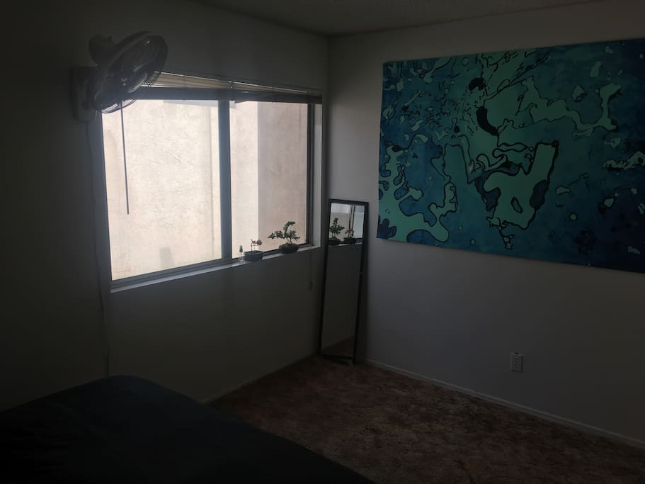 Window in bedroom