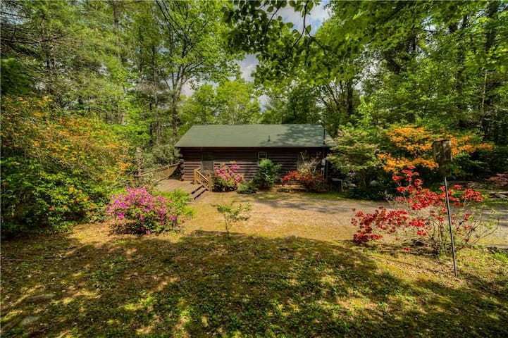 Secluded nook in the woods, minutes from Downtown Blue Ridge WiFi/TV's, Brand New Hot Tub!