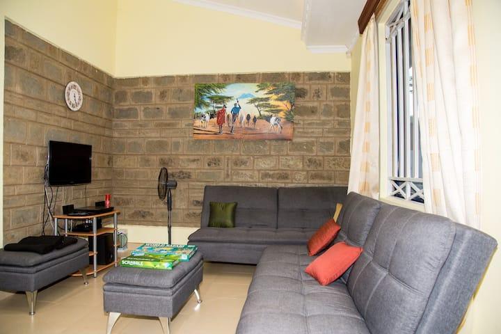 Kisumu House 1. Comfort, serene, scenic & homey