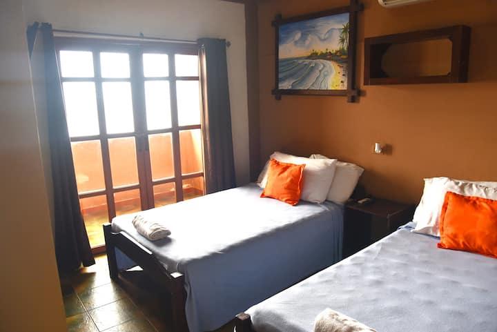 AST Surf Hotel - Junior Ocean view balcony room