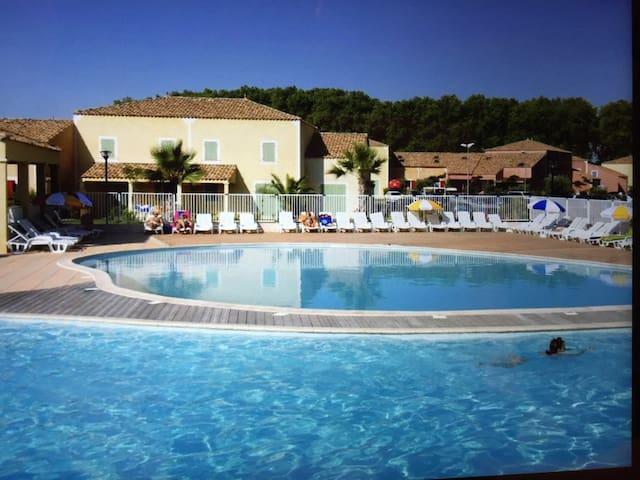 2 pièces en duplex avec piscine - Béziers - House