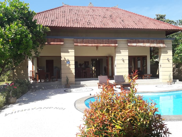 Private Villa 2 BR swimming pool,best diving area.