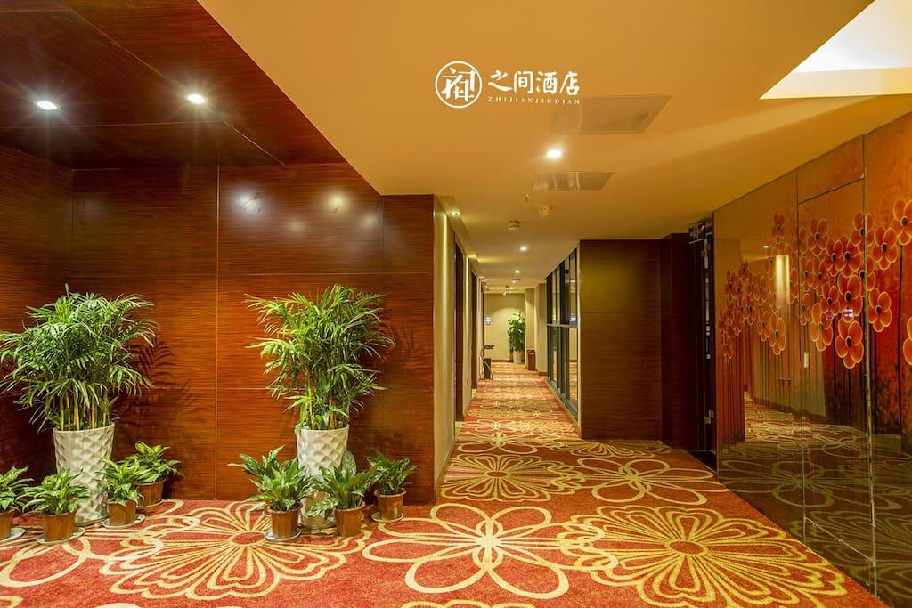 房间外面的走廊