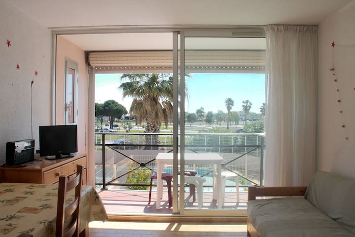Apartment near Beach with swimming-pool - Le Grau-du-Roi - Apartemen