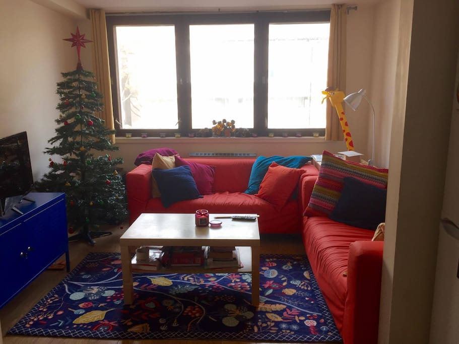 Living room (Christmas decorations and cushions update)
