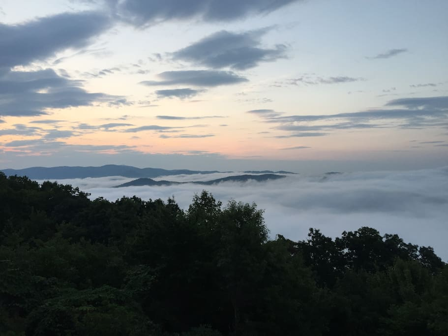Early Morning Sea of Clouds