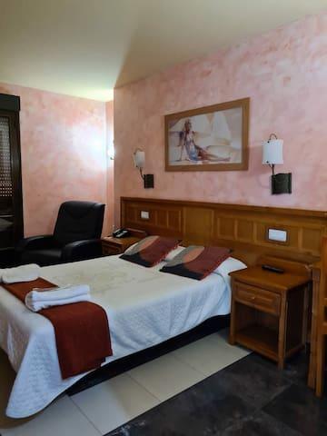 Habitaciones privadas en Hotel Pedro Muñoz