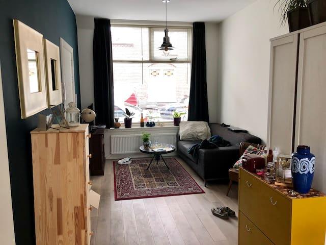 Mooi appartement met kleine tuin!
