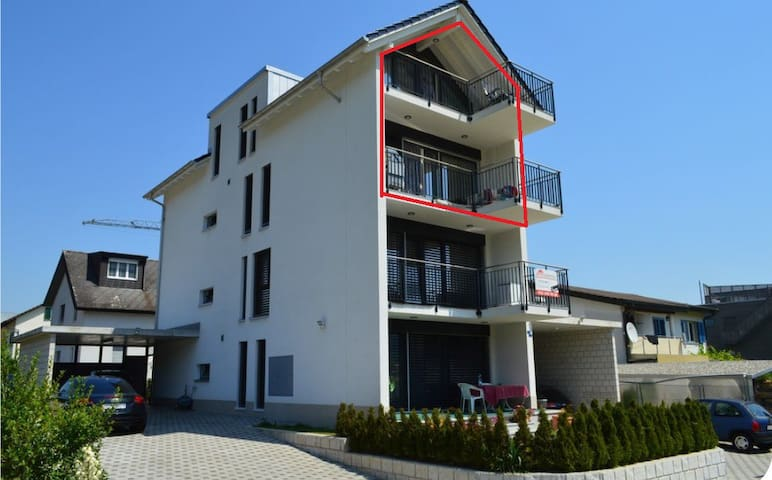 Maegenwil near Zurich (Upper Level) - Mägenwil - Apartament