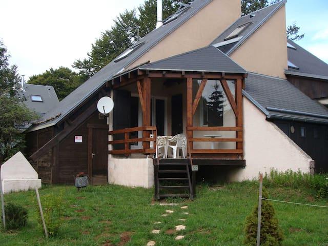 CHALET tout près de LAGUIOLE en AUBRAC - Laguiole - Alpehytte
