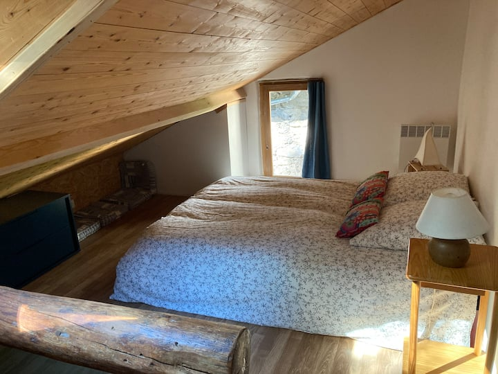 Maison 7min télécabine 2alpes idéale ski,rando,vtt