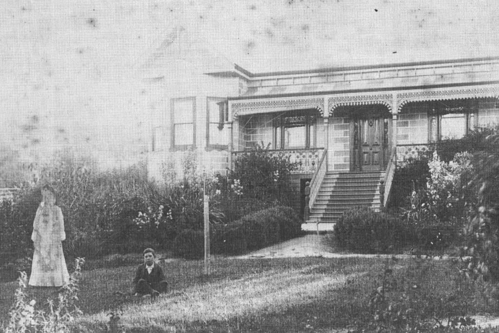 Dunedin with previous inhabitants