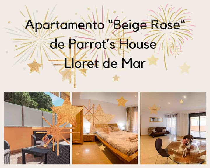"Parrot's House""BEIGE ROSE"" Apartment"