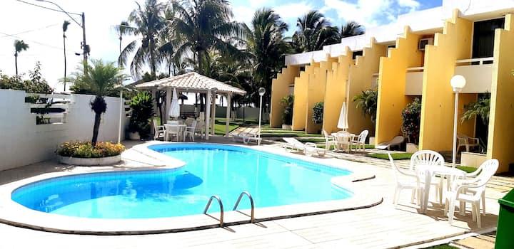 Apartamento em Guarajuba-BA em frente ao mar