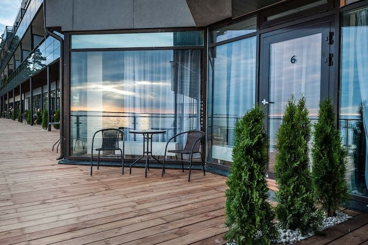 Apartment on the beach with Park view - Tallinn - Byt