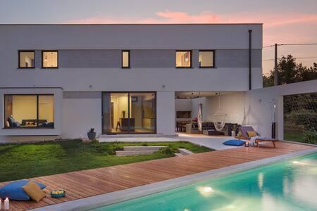 Villa Leccino, Labin, Istria, Croatia