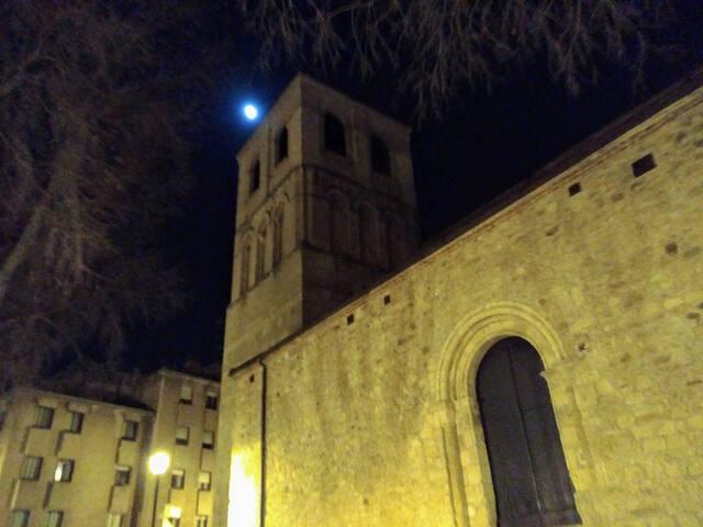 En el centro de Segovia