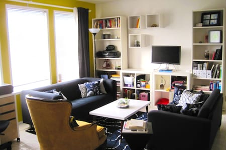 Comfy Sofa in Cozy Home - Calgary