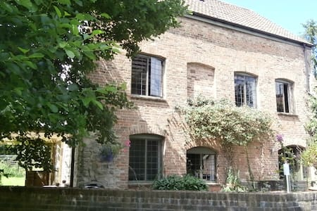 Guest wing of riverside mill close to Taunton - Bishop's Hull - Bed & Breakfast