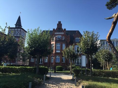 Villa Glückspilz direkt am Strand inkl. Strandkorb