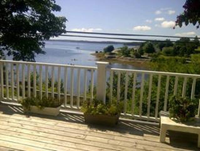 Beautiful oceanfront view - Mahone Bay - House