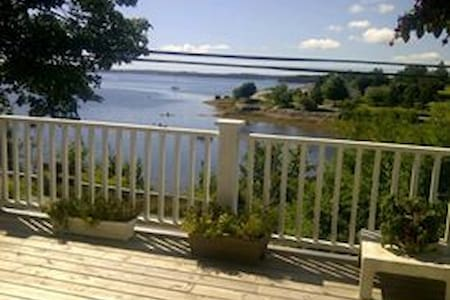 Beautiful oceanfront view - Mahone Bay - Casa