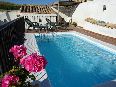 Rural farmhouse private pool