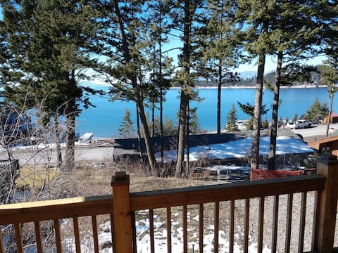 Flat with Beach on Flathead Lake