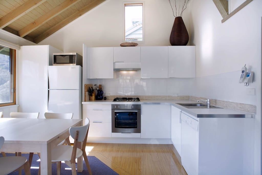 Full and functional kitchen