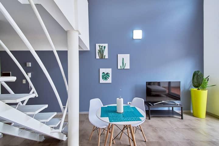Nuevo Duplex/2 Terrazas/Silencioso/cochera propia